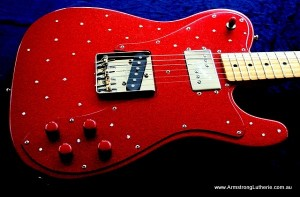 Guitar Customised in the Armstrong Custom Shop
