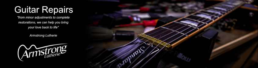 Brisbane Based Luthier Andrew Armstrong, Guitar repairs